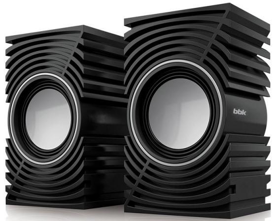 Колонки BBK CA-197S 2x2.5 Вт черный колонки bbk ca 199s 2x3 вт черный