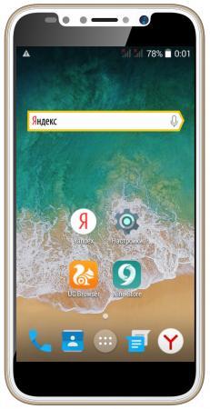 Смартфон ARK Benefit S504 золотистый 5 4 Гб Wi-Fi GPS 3G