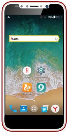 "цена Смартфон ARK Benefit S504 красный 5"" 4 Гб Wi-Fi GPS 3G"