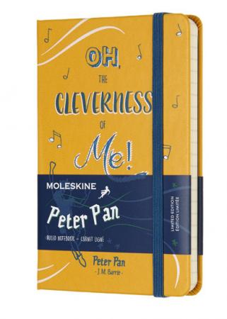 Блокнот Moleskine Limited Edition PETER PAN LEPN01BMM710 Pocket 90х140 см 192 листа цена