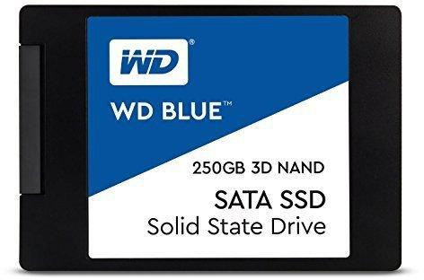 Твердотельный накопитель SSD 2.5 250 Gb Western Digital WDS250G2B0A Read 550Mb/s Write 525Mb/s 3D NAND TLC