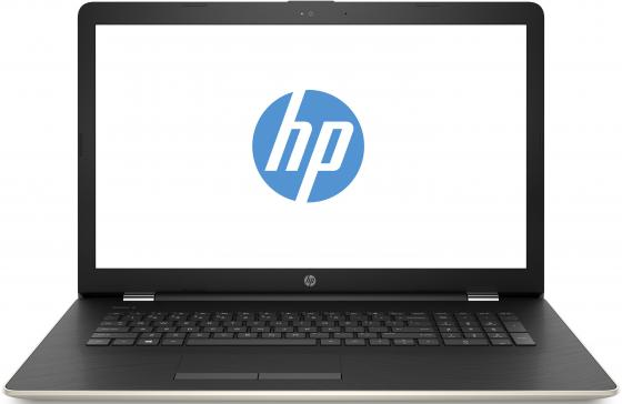 Ноутбук HP 17-ak083ur 17.3 1600x900 AMD A6-9220 128 Gb 4Gb Radeon R4 золотистый Windows 10 Home 2QJ22EA ноутбук hp 17 ak024ur 17 3 1600x900 amd e e2 9000e 128 gb 4gb amd radeon r2 красный windows 10 home 2cp38ea