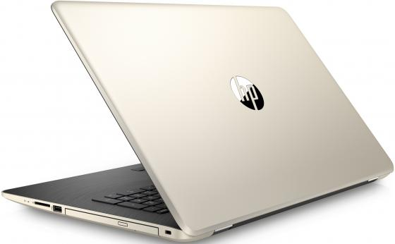 "Ноутбук HP 17-ak083ur 17.3"" 1600x900 AMD A6-9220 128 Gb 4Gb Radeon R4 золотистый Windows 10 Home 2QJ22EA"