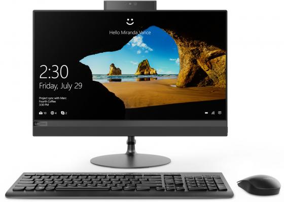 Моноблок 21.5 Lenovo IdeaCentre AIO 520-22IKU 1920 x 1080 Intel Pentium-4415U 4Gb 1 Tb Intel HD Graphics 610 DOS черный F0D5002RRK