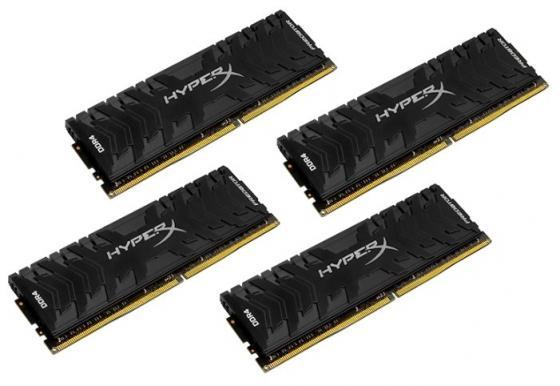 Оперативная память 16Gb (4x4Gb) PC4-24000 3000MHz DDR4 DIMM CL15 Kingston HX430C15PB3K4/16 оперативная память kingston kvr24r17s4 16