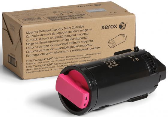 Картридж Xerox 106R03913 для VersaLink C600/C605 пурпурный 10100стр