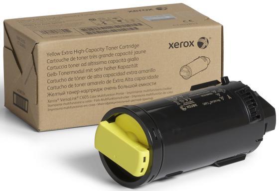 Картридж Xerox 106R03914 для VersaLink C600/C605 желтый 10100стр картридж xerox 106r03910 для versalink c600 c605 желтый 6000стр