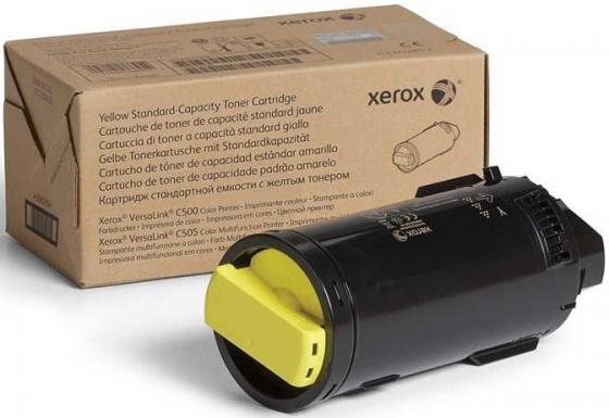 Картридж Xerox 106R03879 для VersaLink C500/C505 желтый 2400стр фотобарабан vl c500 c505 чёрный 40к