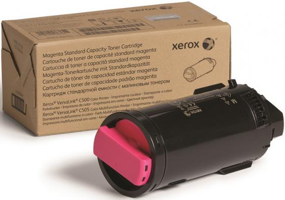 Фото - Картридж Xerox 106R03885 для VersaLink C500/C505 пурпурный 9000стр тонер картридж cactus cs vlc500y 106r03879 желтый 2400стр для xerox versalink c500 c505