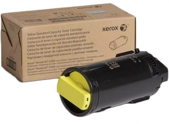 Картридж Xerox 106R03886 для VersaLink C500/C505 желтый 9000стр фотобарабан vl c500 c505 чёрный 40к