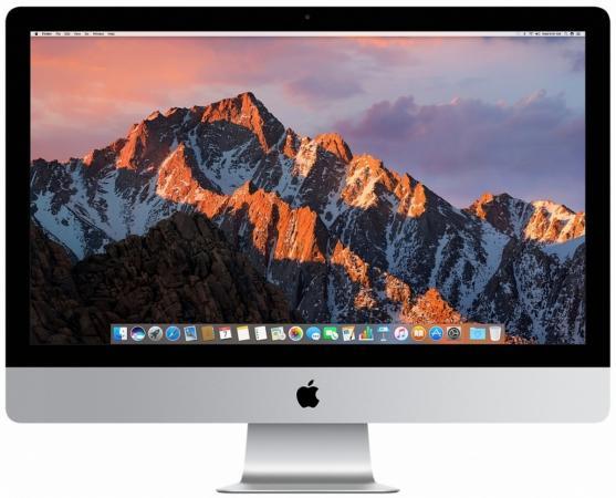 Моноблок 27 Apple iMac 5120 x 2880 Intel Core i7-7700K 16Gb SSD 1024 AMD Radeon Pro 580 8192 Мб macOS серебристый Z0TR002B5, Z0TR007G8 подставка для предметов madeleine amd tr 1073299