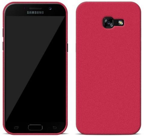 Чехол Perfeo для Samsung A3 2017 TPU красный PF_5274 чехол perfeo для samsung a7 2017 tpu серый pf 5282