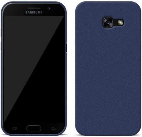Чехол Perfeo для Samsung A7 2017 TPU синий PF_5285 чехол perfeo для samsung a7 2017 tpu серый pf 5282