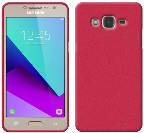 Чехол Perfeo для Samsung J2 Prime TPU красный PF_5299 чехол perfeo для samsung j5 2017 tpu серый pf 5307
