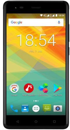 Смартфон Prestigio Grace R5 LTE черный 5.5 16 Гб LTE Wi-Fi GPS 3G PSP5552DUOBLACK смартфон micromax q334 canvas magnus черный 5 4 гб wi fi gps 3g