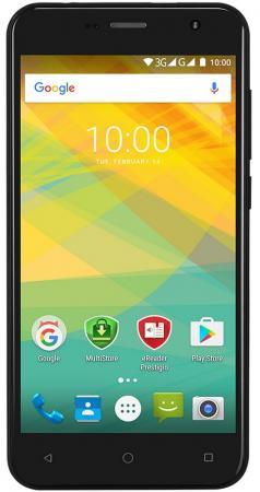 Смартфон Prestigio Muze B7 черный 5 16 Гб Wi-Fi GPS 3G PSP7511DUOBLACK смартфон micromax q334 canvas magnus черный 5 4 гб wi fi gps 3g