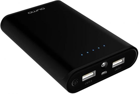 Портативное зарядное устройство Qumo PowerAid 10400mAh черный