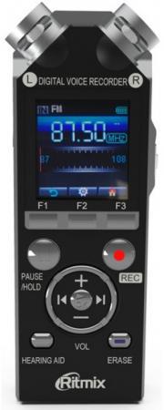 Цифровой диктофон Ritmix RR-989 8Гб черный