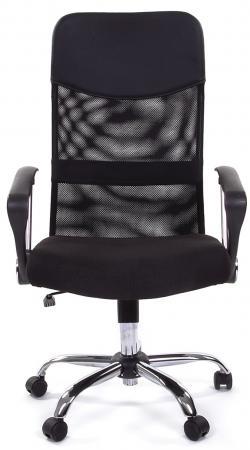 Купить со скидкой Кресло Русские кресла РК 160 15-21 обивка сиденье ткань стандарт черная спинка сетка черная