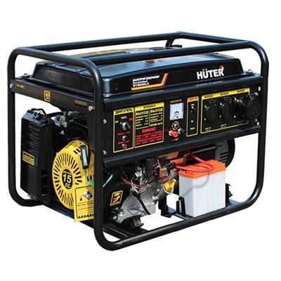 Генератор Huter DY8000L бензиновый 15 л.с генератор бензиновый tss sgg 7500e
