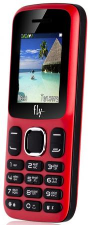 Мобильный телефон Fly FF180 красный 1.77 32 Мб мобильный телефон fly ff247 green