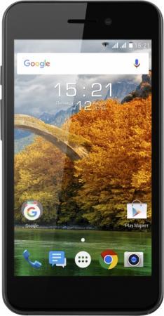Смартфон Fly FS459 Nimbus 16 черный 4.5 8 Гб LTE Wi-Fi GPS 3G смартфон fly nimbus 7 fs505 золотистый