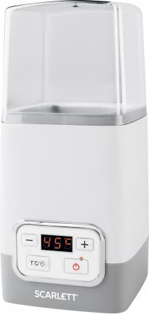 Йогуртница Scarlett SC-YM141P01 серый белый вентилятор scarlett sc 1370 белый