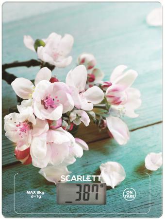 Весы кухонные Scarlett SC-KS57P20 рисунок scarlett sc ks57p32 peanut cookies весы кухонные