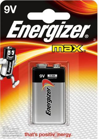 Батарейка Energizer Max 6LR61 6F22 1 шт E300115901/E300115902 max f max f nosweat 30%