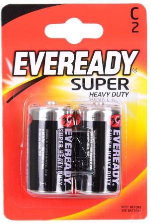 Батарейки Energizer Carbon Zinc Eveready C/R14 2 шт 38749 батарейка d energizer eveready super r20 ni mh 2 штуки