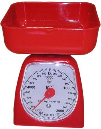 Весы кухонные Irit IR-7130 красный кухонные весы irit ir 7118