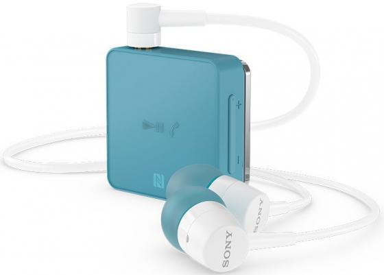 Bluetooth-гарнитура SONY SBH24 синий bluetooth гарнитура sony sbh90c black