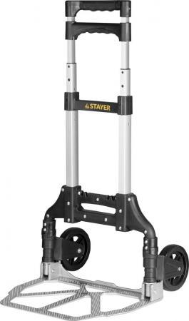 Тележка Stayer Expert хозяйственная раскладная максимальная нагрузка 70кг 38755-70 тележка хозяйственная зубр 38750 60