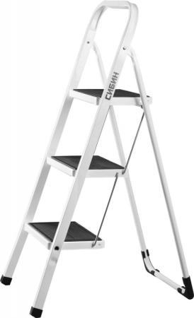 Лестница-стремянка Сибин стальная 3 ступени 38807-03 стремянка стальная 4 ступени fit 65332