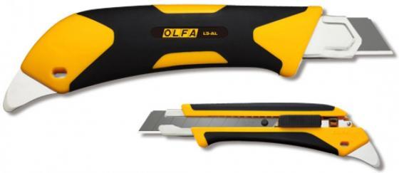 Нож Olfa Autolock двухкомпонентный корпус 18мм OL-L5-AL