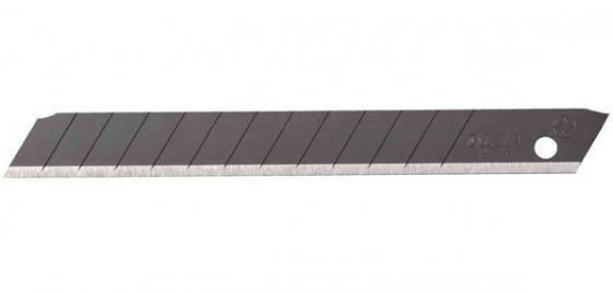 Лезвие Olfa Black Max сегментированное 9х80х0.38мм 13 сегментов 50шт OL-ABB-50B лезвие сегментированное olfa 18х100х0 5мм 8 сегментов 50шт black max ol lbb 50b
