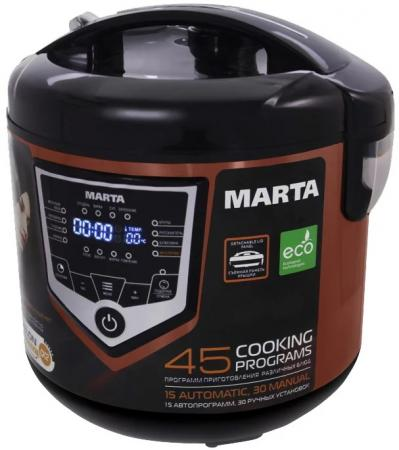 Мультиварка Marta MT-4301 860 Вт 5 л темный янтарь маринатор marta mt 2090