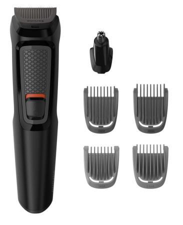 Машинка для стрижки бороды Philips MG3710/15 чёрный valera машинка для стрижки бороды и усов нож с керамическим покрытием