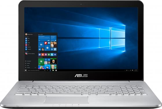 Ноутбук ASUS N552VX-FW356T 15.6 1920x1080 Intel Core i7-6700HQ 2 Tb 12Gb nVidia GeForce GTX 950M 2048 Мб серый Windows 10 Home 90NB09P1-M04210 samsung rs 552 nruasl