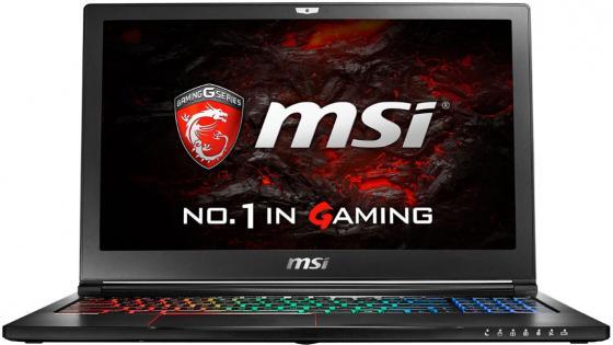 Ноутбук MSI GS63VR 7RG-093RU Stealth Pro 4K 15.6 3840x2160 Intel Core i7-7700HQ 2 Tb 512 Gb 32Gb nVidia GeForce GTX 1070 8192 Мб черный Windows 10 Home 9S7-16K312-093 чехол для карточек авокадо дк2017 093