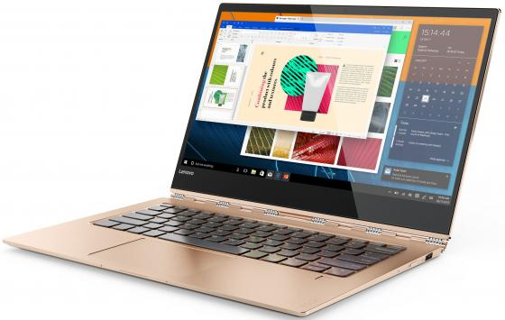 Ультрабук Lenovo YOGA 920-13IKB 13.9 1920x1080 Intel Core i5-8250U 256 Gb 8Gb Intel UHD Graphics 620 медный Windows 10 Home 80Y7001URK ноутбук lenovo yoga 730 13ikb 81ct0096ru i5 8250u 1 6 8gb 256gb ssd 13 fhd touch int intel uhd 620 win10 platinum