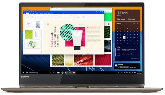 Ноутбук Lenovo IdeaPad YOGA 920-13IKB 13.9 1920x1080 Intel Core i7-8550U 512 Gb 16Gb Intel UHD Graphics 620 медный Windows 10 Home 80Y7001RRK ноутбук трансформер lenovo ideapad yoga 510