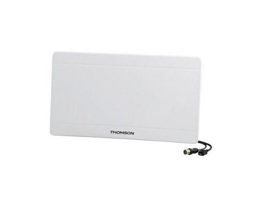лучшая цена Антенна Thomson ANT1706 43дБ активная белый кабель 1.4м