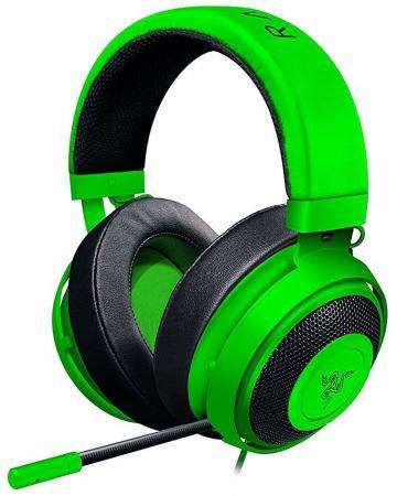 все цены на Игровая гарнитура проводная Razer Kraken Pro V2 Oval зеленый RZ04-02050600-R3M1 онлайн