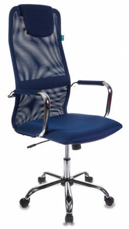 Кресло Бюрократ KB-9/DB/TW-10N синий кресло компьютерное бюрократ kb 9 eco