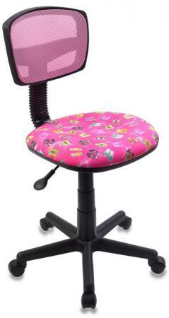 Кресло детское Бюрократ CH-299/PK/FLIPFLOP_P розовый сланцы кресло бюрократ ch 299