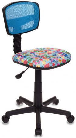 Кресло детское Бюрократ CH-299/LB/MARK-LB голубой марки столы и стулья libao кресло детское lb 03