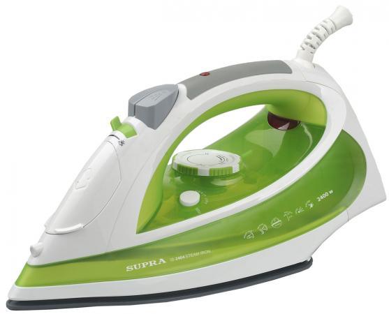 Утюг Supra IS-2404 2400Вт белый зелёный supra is 2202