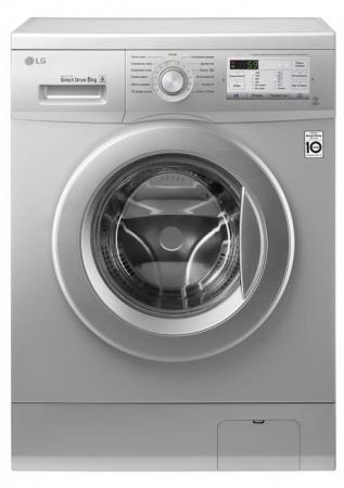 Стиральная машина LG FH2H3QD5 серебристый стиральная машина lg f80b8ld0 стиральная машина