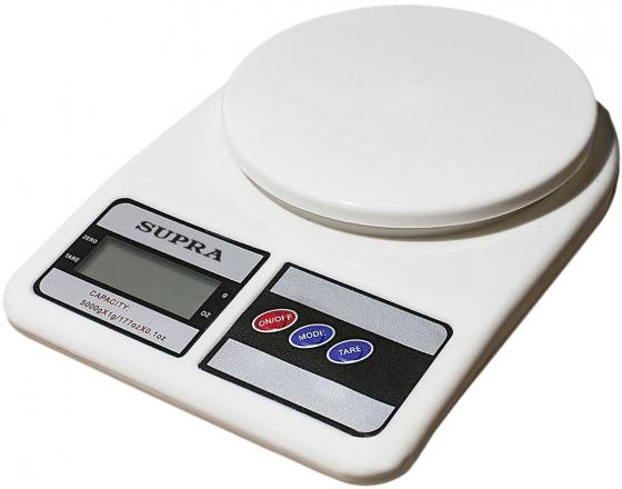 Весы кухонные Supra BSS-4042 белый весы кухонные supra bss 4042 белый
